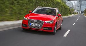 Audi A3 e-tron: in hybrid mode it has the acceleration of a much more powerful car than you'd expect from the relatively small powertrain