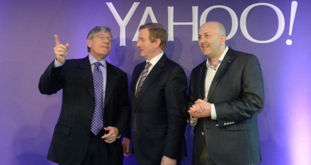 Yahoo at Point Village, Dublin - e-Up neighbours