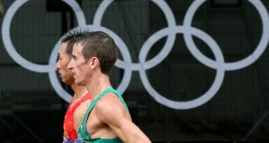 Ireland's Rob Heffernan finished fourth in the 2012 Olympics but may be upgraded and given the bronze medal.  Photograph: Morgan Treacy/Inpho
