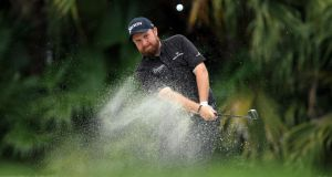 Shane Lowry is in San Antonio this week for the Valero Texas, his last tournament before the US Masters. Photograph: David Cannon/Getty Images