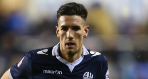 "Bolton Wanderers striker Conor Wilkinson: ""I wouldn't play for England, no way."" Photograph: Michael Steele/Getty Images"