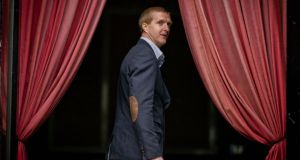 Henry Shefflin leaves after the press conference announcing his intercounty retirement. Photograph: Morgan Treacy/Inpho.