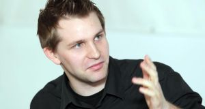 Austrian law student   Max Schrems: the case heard on Tuesday originates in an action brought by him against the Irish Data Protection Commissioner, in which he asserted the commission should have taken more substantial action when he filed a complaint over Facebook's handling of his data. Photograph:   Dieter Nagl/AFP/Getty Images