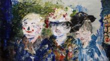 'The Bang the Door Boys', a 1944 painting by Jack B Yeats, sold to a private Irish collector for €95,000