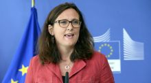 EU trade commissioner Cecilia Malmström: has inherited one of the trickiest portfolios in Jean-Claude Juncker's commission. PHOTOGRAPH: THIERRY CHARLIER/AFP/GETTY IMAGES