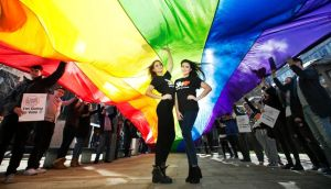 Open about sexuality: DIT students held Stand Up 4 Love, a comedy and music night at Vicar Street, in support of a Yes vote in the marriage-equality referendum