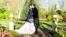 Our wedding story: 'He dropped down on one knee and gave the loveliest speech'