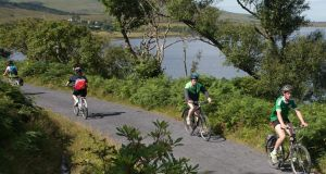 The Greenway, which runs from Westport to Achill. Photograph: Michael McLaughlin