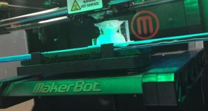 MakerBot Replicator  3D printing is one of TechShop's most popular classes