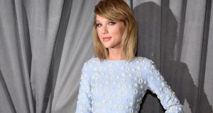 Terse: Taylor Swift criticised the Princeton Review, a firm that helps US students prepare for exams, for misquoting one of her lyrics in a test paper. Photograph: Kevin Mazur/Wireimage/Getty