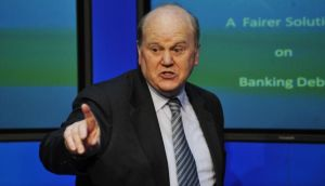 Minister for Finance Michael Noonan: said 'an unsuccessful bidder' for Siteserv had complained to his department about the 2012 sale process for the business. Photograph: Aidan Crawley