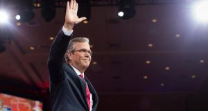 Jeb Bush: though he is more apt to do his homework, he's unformed on foreign policy, like his brother – except that his brother was elected before 9/11. Photograph: Jabin Botsford/New York Times