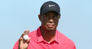Tiger Woods has dropped out of the top 100 for the first time since 1996. Photgraph: Afp