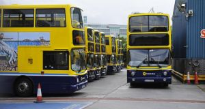 Under  current privatisation plans, orbital routes in Dublin rather than city centre services, such as those between Blackrock and Rialto, and Chapelizod and the Square shopping centre in Tallaght, will be put out to tender. File photograph: Aidan Crawley/The Irish Times