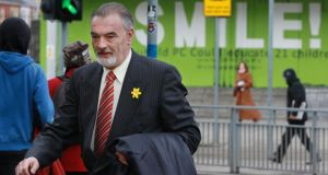 Ian Bailey, pictured leaving the Four Courts last Friday. Photograph: Collins