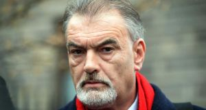 Ian Bailey leaving The High Court after losing his case.  Photograph: Eric Luke / The Irish Times