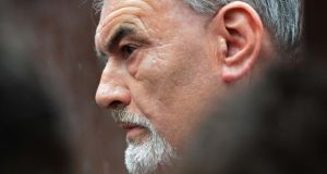 Ian Bailey leaving the High Court after losing his case over garda conduct. Photograph: Eric Luke / The Irish Times