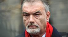 Ian Bailey leaving the High Court after losing his case against An Garda Síochána and the State. Photograph: Eric Luke/The Irish Times