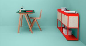 The Hay Copenhagen desk by Brittany-born brothers Ronan and Erwan Bouroullec