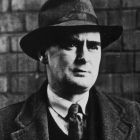 Myles na gCopaleen, Flann O'Brien, today, April Fool's Day is the anniversary of his death.