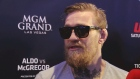Conor McGregor 'It's good to be home in front of my own people'