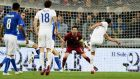 Andros Townsend scores  England's equaliser past Italy goalkeeper Gianluigi Buffon during the friendly international     at the Juventus Stadium  in Turin. Photograph: Claudio Villa/Getty Images