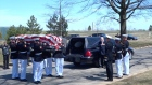 Irish-born US special forces marine Liam Flynn laid to rest