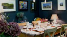 Niamh MacGowan is a graphic designer and interiors stylist who  uses strong colours and textures and will be offering expert advice at the  Ideal Home Show