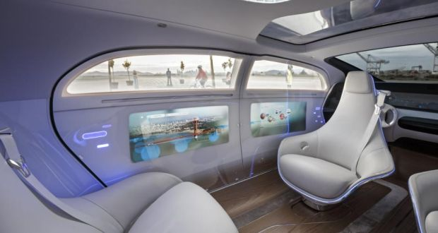 The Mercedes Benz F 015 Luxury In Motion In In San Francisco. U201cIn The  Future,u201d Dr Mankowski Says, U201cspeed Wonu0027t Matter Anymore. Only Time And  Space.u201d