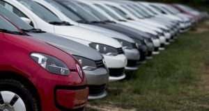 Volkswagen has its nose in front in the Irish new car sales market, ahead of rivals Toyota.
