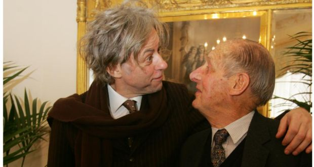 32567081918 Bob Geldof and his dad Bob senior    Later I knew and loved him for