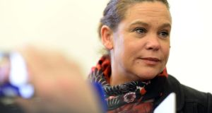 "Mary Lou McDonald said she was ""deeply alarmed"" by the proposal  to change to the date from which refugee bodies are subject to freedom of information legislation.  Photograph: Eric Luke"