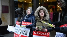 Dunnes Stores staff picket Henry St branch