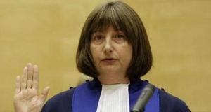 Judge Silvia Fernandez de Gurmendi (61) of Argentina – first female president of the International Criminal Court