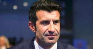 Luis Figo says that he has received support from African federations. Photo: Leonhard Foeger/Reuters