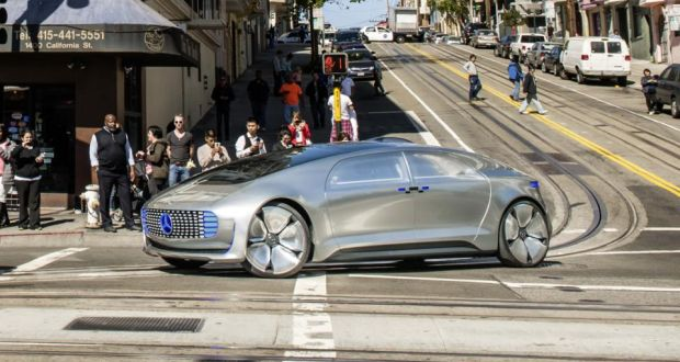 Mercedes Benz Of San Francisco >> Riding Through The Streets Of San Francisco In A Driverless Car