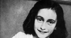 Jewish teenager  Anne Frank died of typhus in the Bergen-Belsen concentration camp in May 1945 at the age of 15. Photograph: AFP/Getty Images