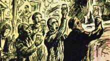 Modern Ireland in 100 Artworks: 1937 –  Come Gather Round Me Parnellites, by Jack B Yeats