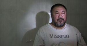 Art and politics: Ai Weiwei. Photograph: GIlles Sabrie/New York Times