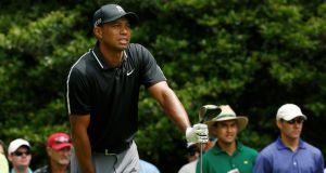 Tiger Woods was one of the first professional golfer to make efforts on fitness and weight. Photograph: Reuters.