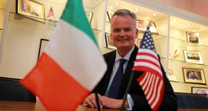 Mark Redmond, chief executive of the  American Chamber, says 700 US companies employ 130,000 workers in Ireland. Picture Nick Bradshaw