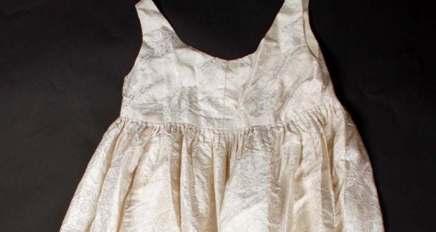 Jackie Kennedy Silk Maternity Dress Up For Auction In Dublin