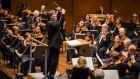 Alan Gilbert (pictured conducting the New York Philharmonic last year): 'For many orchestras, what the New York Philharmonic achieves in the first rehearsal is something they can only dream of achieving in concert'