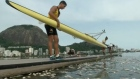 Dead fish litter Rio's Olympic rowing and canoeing course