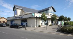 Blackrock Village Centre in Co Louth extends to 1,012sq m and is anchored by Centra and Bradley's Pharmacy.
