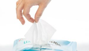 There are a number of brands that offer wipes without some harmful ingredients, but there is one brand that contains almost nothing at all – in a good way