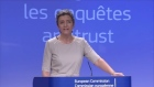 The European Union accused Google on Wednesday of cheating competitors by distorting Internet search results in favour of its Google Shopping service. Video: Reuters