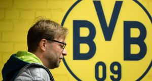 Borussia Dortmund coach Jürgen Klopp has asked the Bundesliga club to be released from his contract until 2018 after the season. Photo: Friso Gentsch/EPA