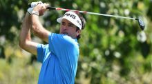 Bubba Watson of USA plays a shot during the pro-am prior to the start of the Shenzhen International at Genzon Golf Club on Wednesday. Photograph: Stuart Franklin/Getty Images.