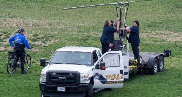 Florida man lands gyrocopter on US Capitol grounds